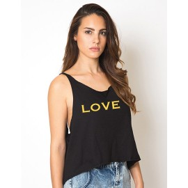 Woman Shaki Top - LOVE
