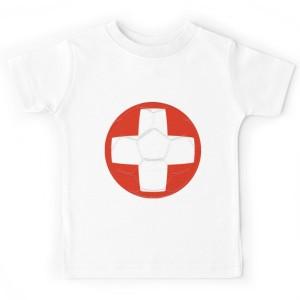 T-shirt enfant - BALLON SUISSE