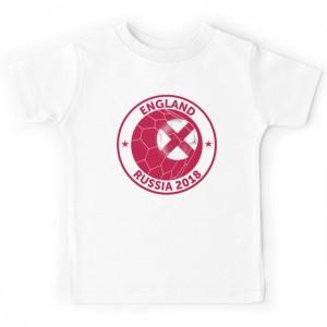 T-shirt enfant - ENGLAND RUSSIA 2018