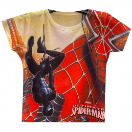 Tshirt enfant 4-14 ans integralement sublimé spider