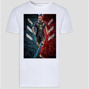 T-shirt homme et enfant manche courte 100% coton - KB9