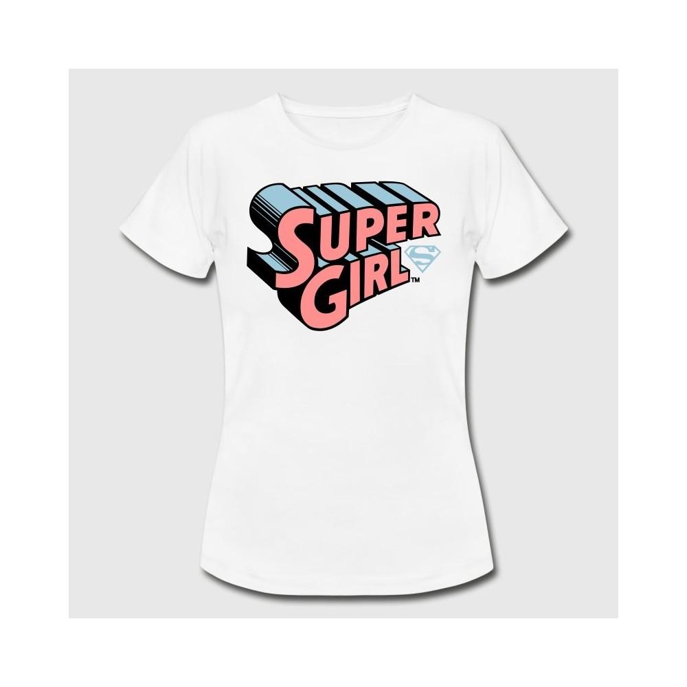 Tshirt fille Supergirl