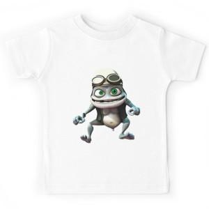 T-shirt enfant - Grenouille folle