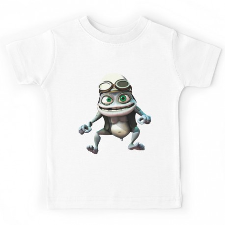 T-shirt enfant - Grenouille folle