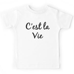 T-shirt enfant - C'est la vie
