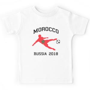 T-shirt enfant - Maroc gagne la coupe du monde 2018
