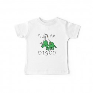 Tshirt bébé - À la discothèque