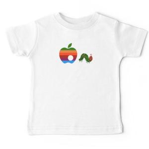 Tshirt bébé - Ver de terre apple