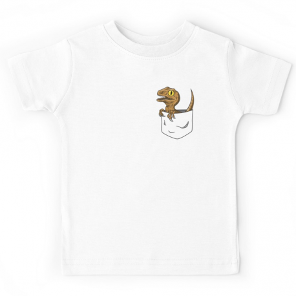 T-shirt avec poche de dinausore