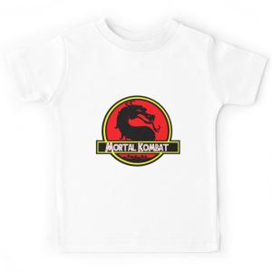 T-shirt enfant Kombat jurassique
