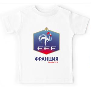 T-shirt enfant - FFF Russia 2018