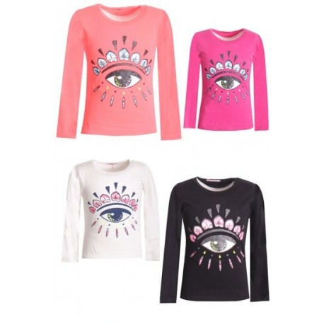 Top manches longues pour fille - TS-39 SWEET GIRL