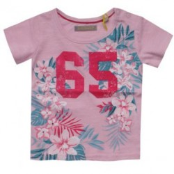 T-shirt bébé fille TRICKY TRACKS - 65