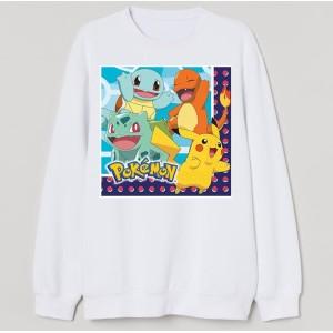 Sweatshirt enfant imprimé poke