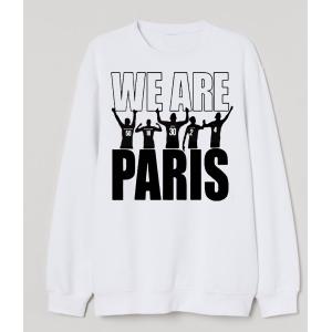 Pere et fils - sweatT-shirt pour homme ou enfant , 80% coton imprimé We are paris