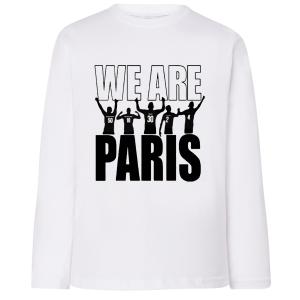 T-shirt enfant 4 ans -12 ans imprimé we are paris