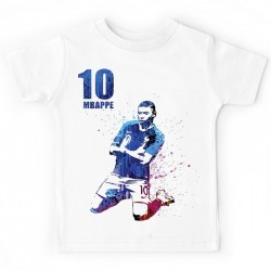 T-shirt enfant - Kylian no 10 - champion du monde