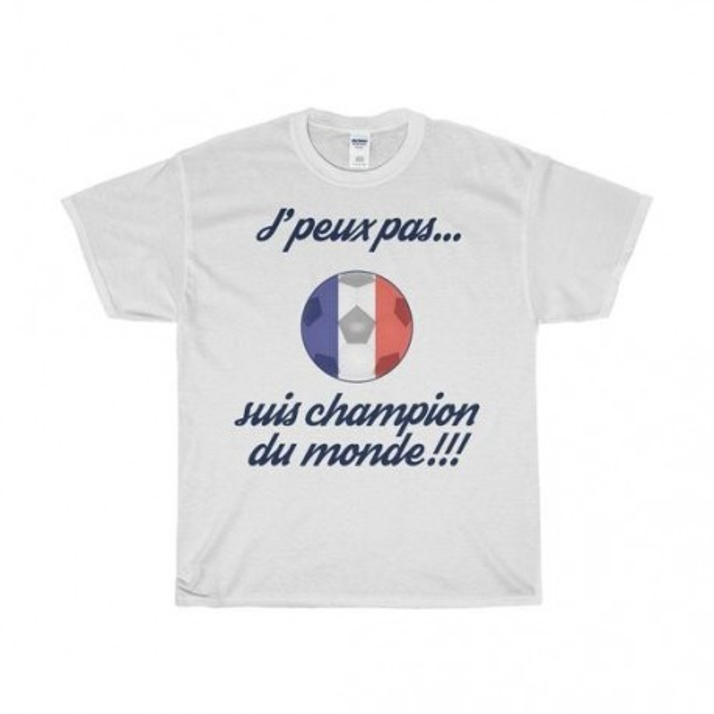 T-shirt enfant - J'peux pas suis champion du monde