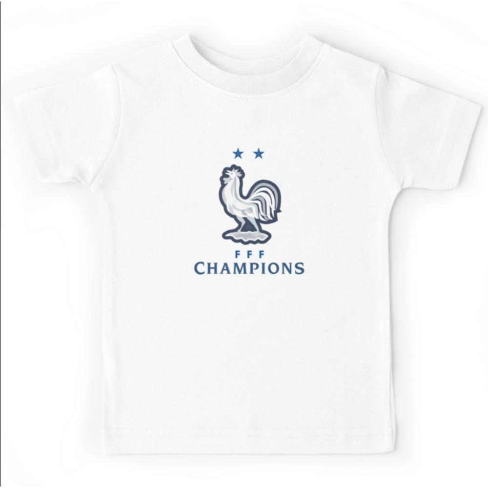 T-shirt enfant  -  France 2 etoile