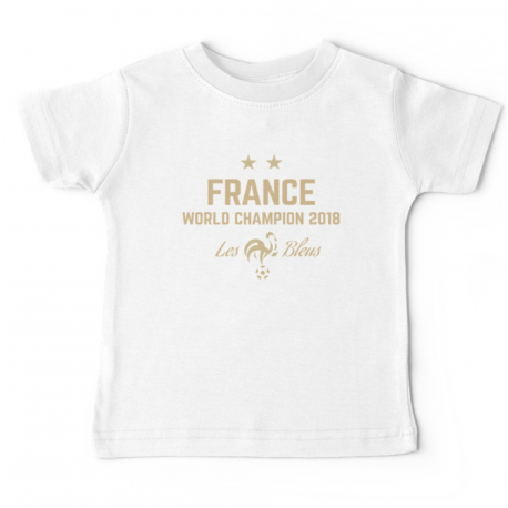 T-shirt enfant  -  France 2 etoile - World champions