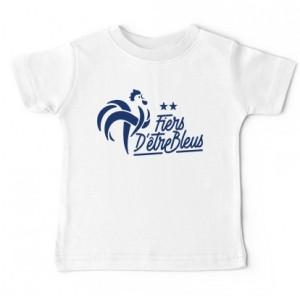 Tshirt bébé - Fier d'etre bleu