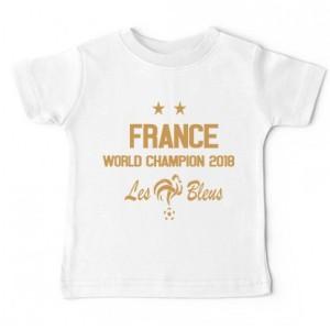 Tshirt bébé - France world champions 2018