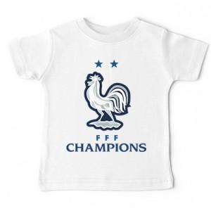 Tshirt bébé - Coq 2 étoiles