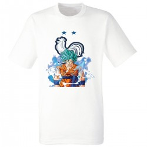 T-shirt enfant - SANGOKU EQUIPE DE FRANCE 2 ETOILES