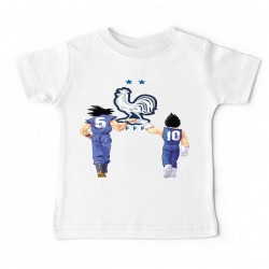 Tshirt bébé - DBZ EQUIPE DE FRANCE