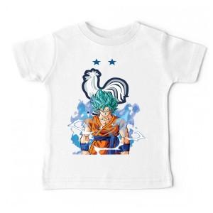 Tshirt bébé - SANGOKU EQUIPE DE FRANCE