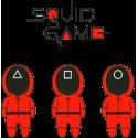 sweatT-shirt pour adulte ou enfant , 80% coton imprimé squid game