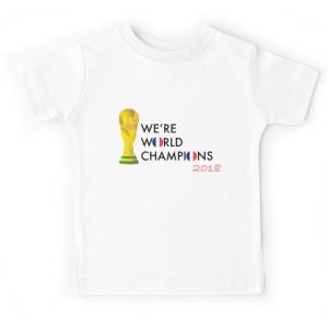 T-shirt enfant - Champion de la Coupe du monde