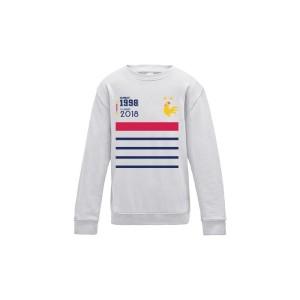Sweatshirt enfant - EQUIPE DE FRANCE 2 ETOILES