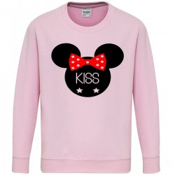 Sweatshirt enfant - MICKEY KISS
