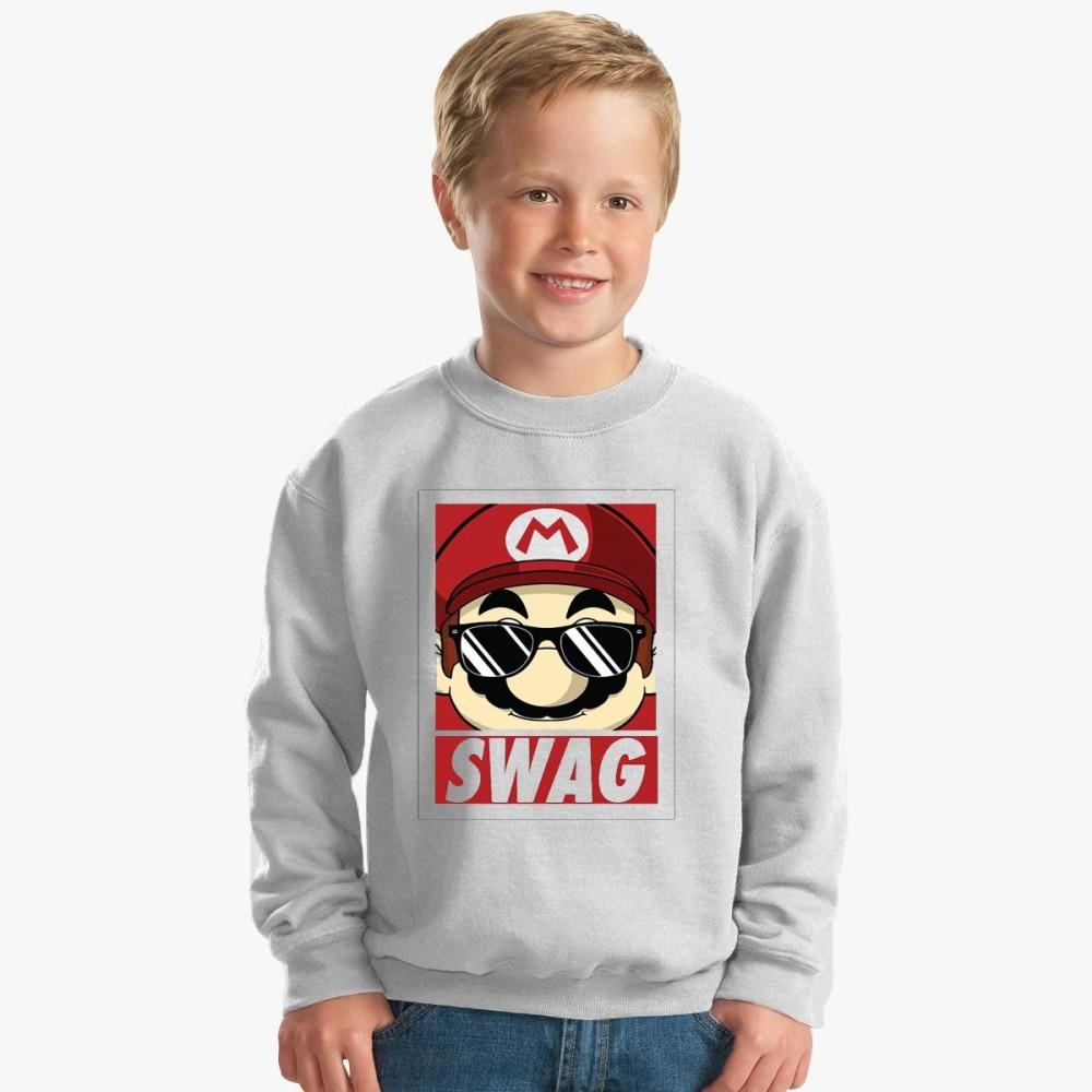 Sweatshirt enfant - MARIO SWAGG