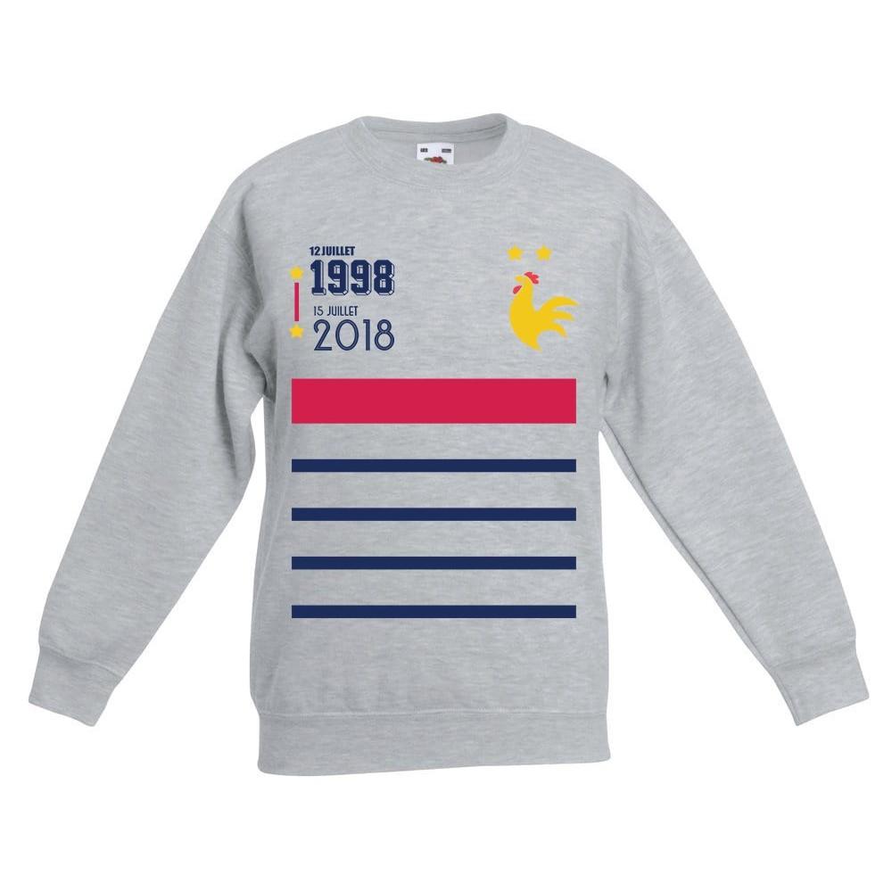 Enfant Sweat Champion Du Shirt Imprimé Monde Kc3uF1J5lT