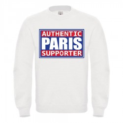 Sweat-shirt enfant molletonné 80% coton - Authentic supporter paris