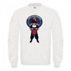 Sweat-shirt enfant molletonné 80% coton - DBZ PARIS