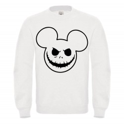 Sweat-shirt enfant molletonné 80% coton - MIKEY HALLOWEEN