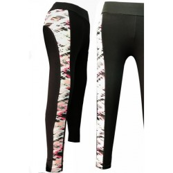 Legging de sport bande multi-color