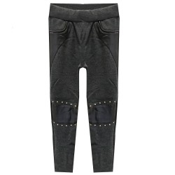 jegging pour fille bi matiere modele Arena