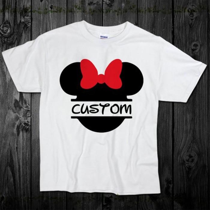 Tshirt fille BLANC CUSTOM