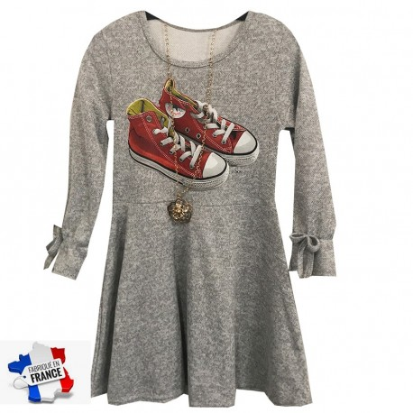 Robe  en maille col rond  - All star