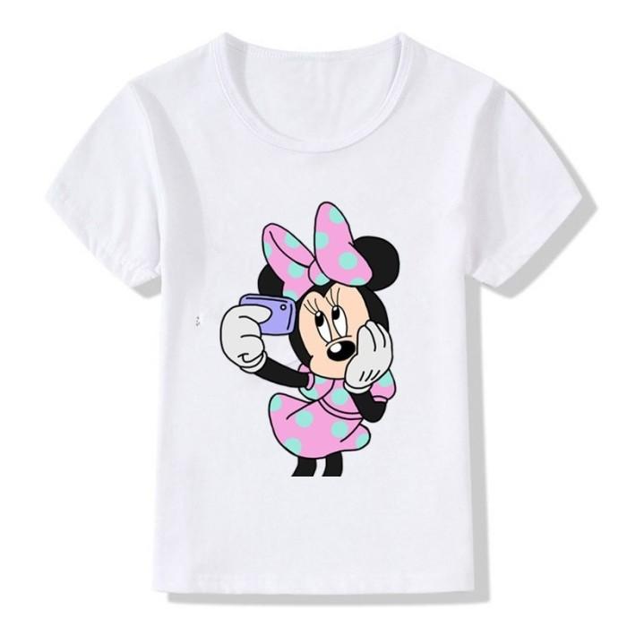 T-shirt enfant -  MINNIE SELFIE