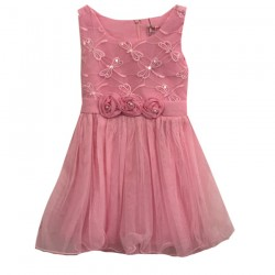 Robe de ceremonie rose - EF-109
