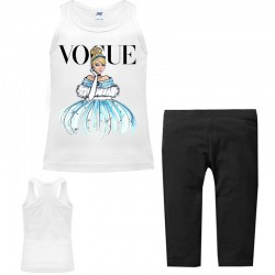 Set débardeur + legging 3/4 pour fille - Vogue princesse