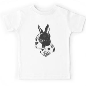 T-shirt enfant du 2 ans au 8 ans - Bull dog