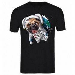 Black series - Tshirt garçon du 6/8 ans au 12/14 ans - Bul dog space