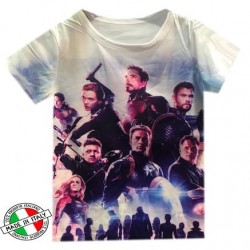 The Avengers - Tshirt garçon integral sublimation du 6 ans au 16 ans - Modele 2