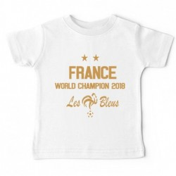 Tshirt bébé - France world champions 2018